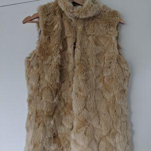 Soft & cozy faux fur vest